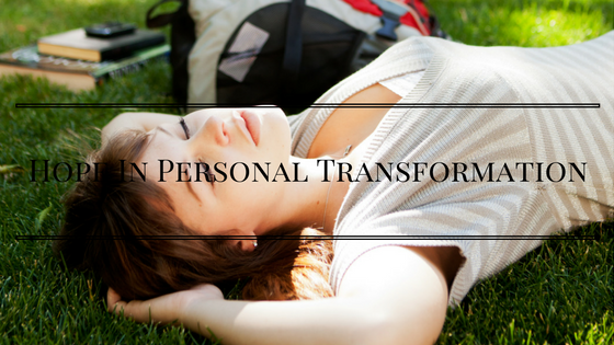 hope personal transformation