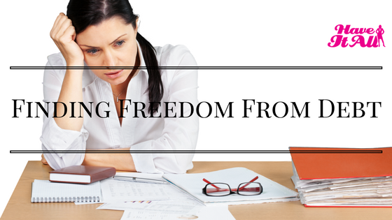 finding freedom from debt
