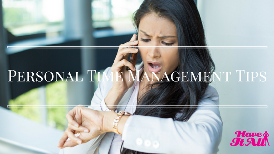 personal time management tips
