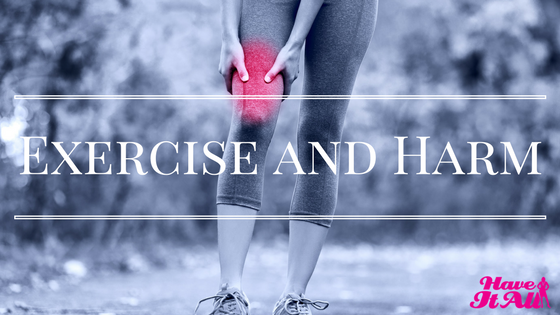 exercise and harm
